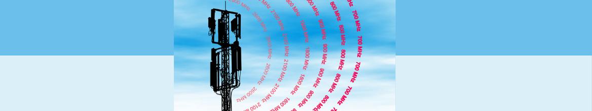 Amplificateur 4G Lexique des termes : bande de fréquences